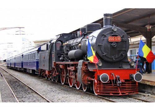 Trenul Regal soseste la InfraTRANS