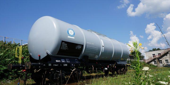 REVA Simeria expune vagonul cisterna de 85 m3 @ INFRATRANS® 2019
